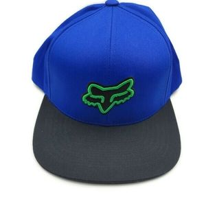 Blue fox hat new without tags